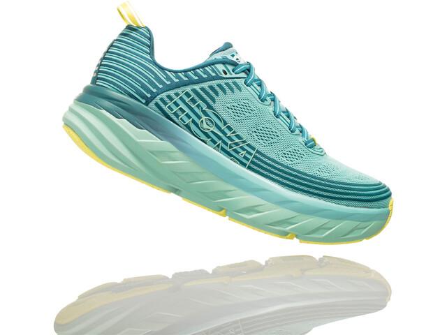 Hoka One One Bondi 6 Running Shoes Damen dragonfly/aqua haze